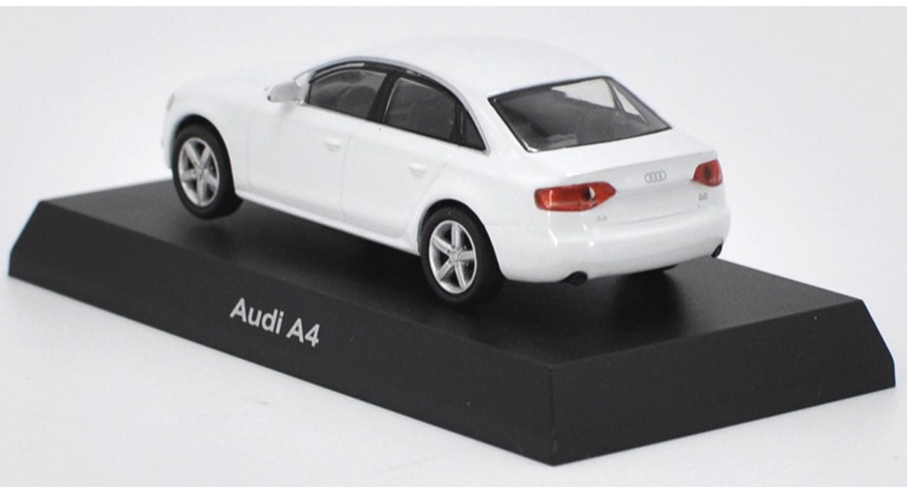 1/64 Kyosho Audi A4 (White) Diecast Car Model