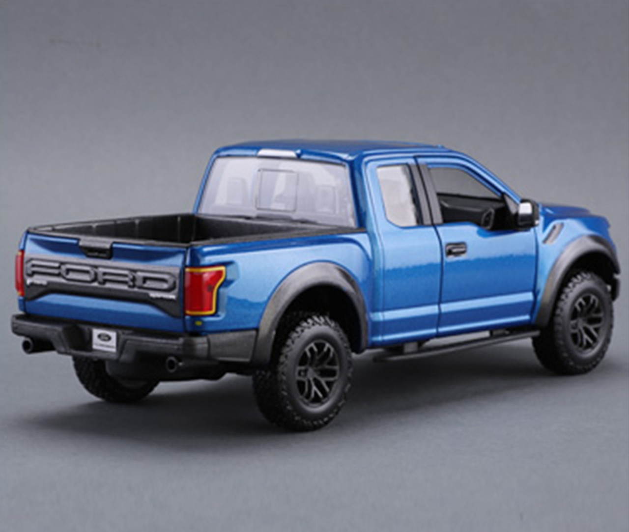 124 Maisto Ford F 150 F150 Raptor Street Version Blue Diecast Car Model