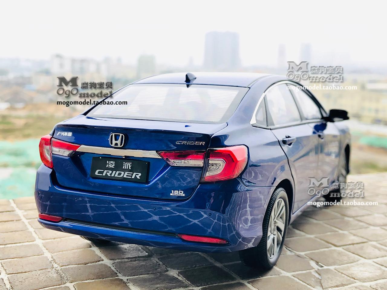 1/18 Dealer Edition 2019 Honda Crider (Blue) Diecast Car ...