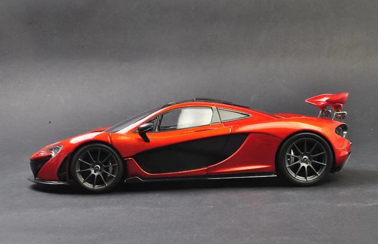 Mclaren P1 Orange >> 1 18 Dealer Edition Mclaren P1 Orange Diecast Car Model