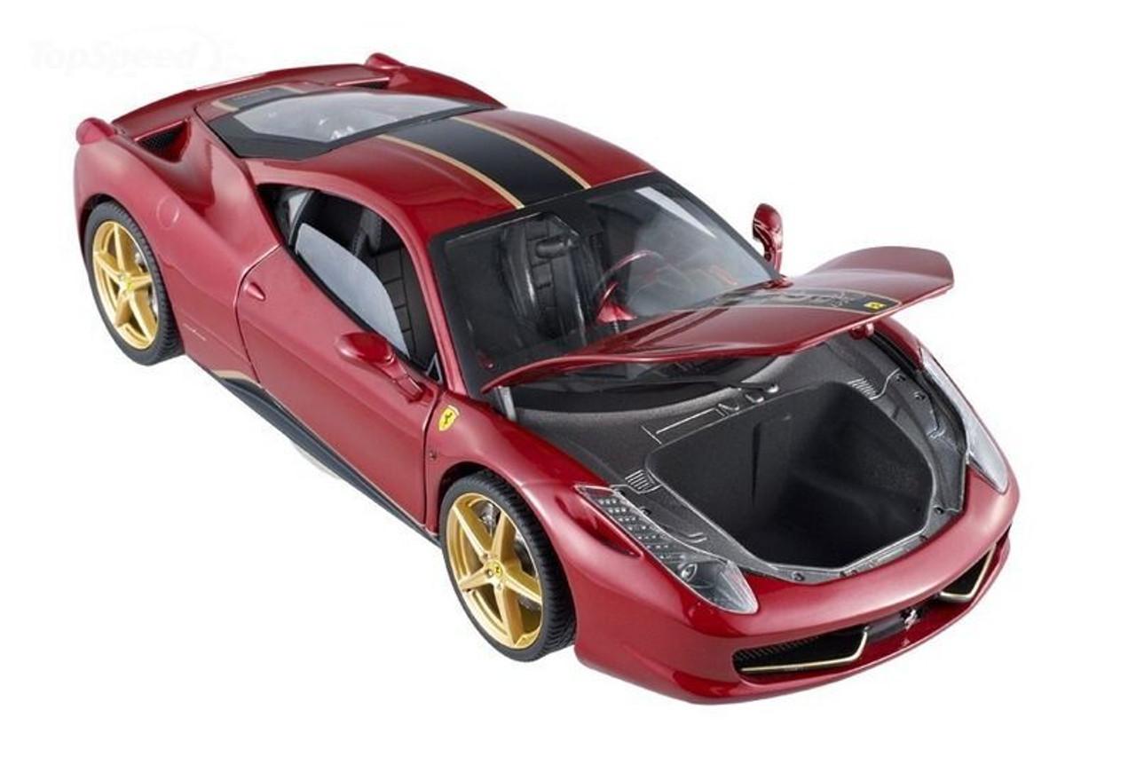 1/18 Hot Wheels Elite Hotwheels Ferrari 458 Italia China ...