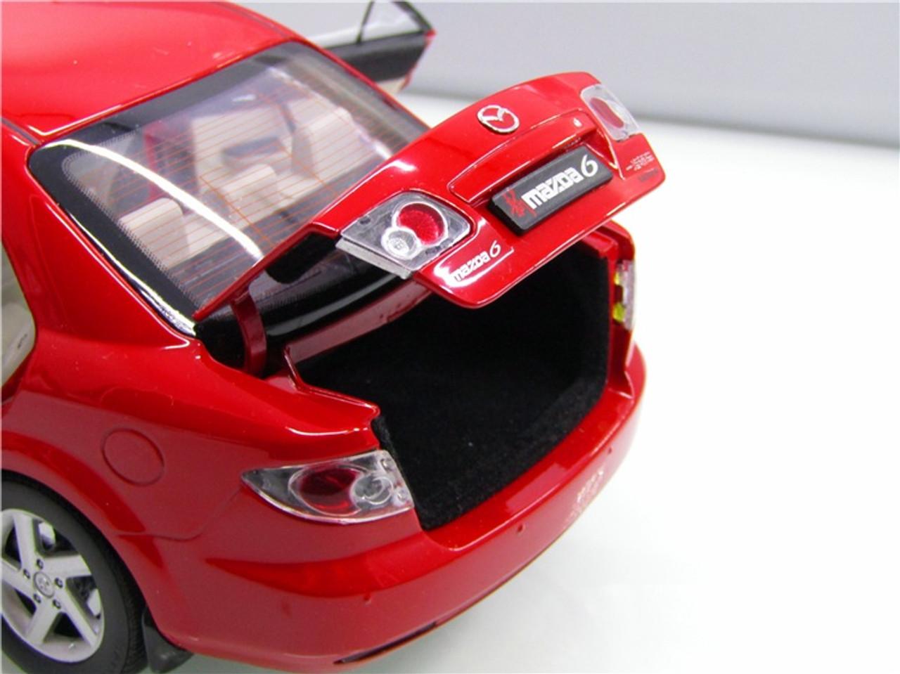RARE 1/18 Dealer Edition 1st Generation 2002-2008 Mazda 6 / Atenza (Red) Diecast Car Model