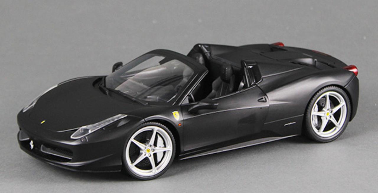 1/18 Hot Wheels Hotwheels Ferrari 458 Italia Spider (Black