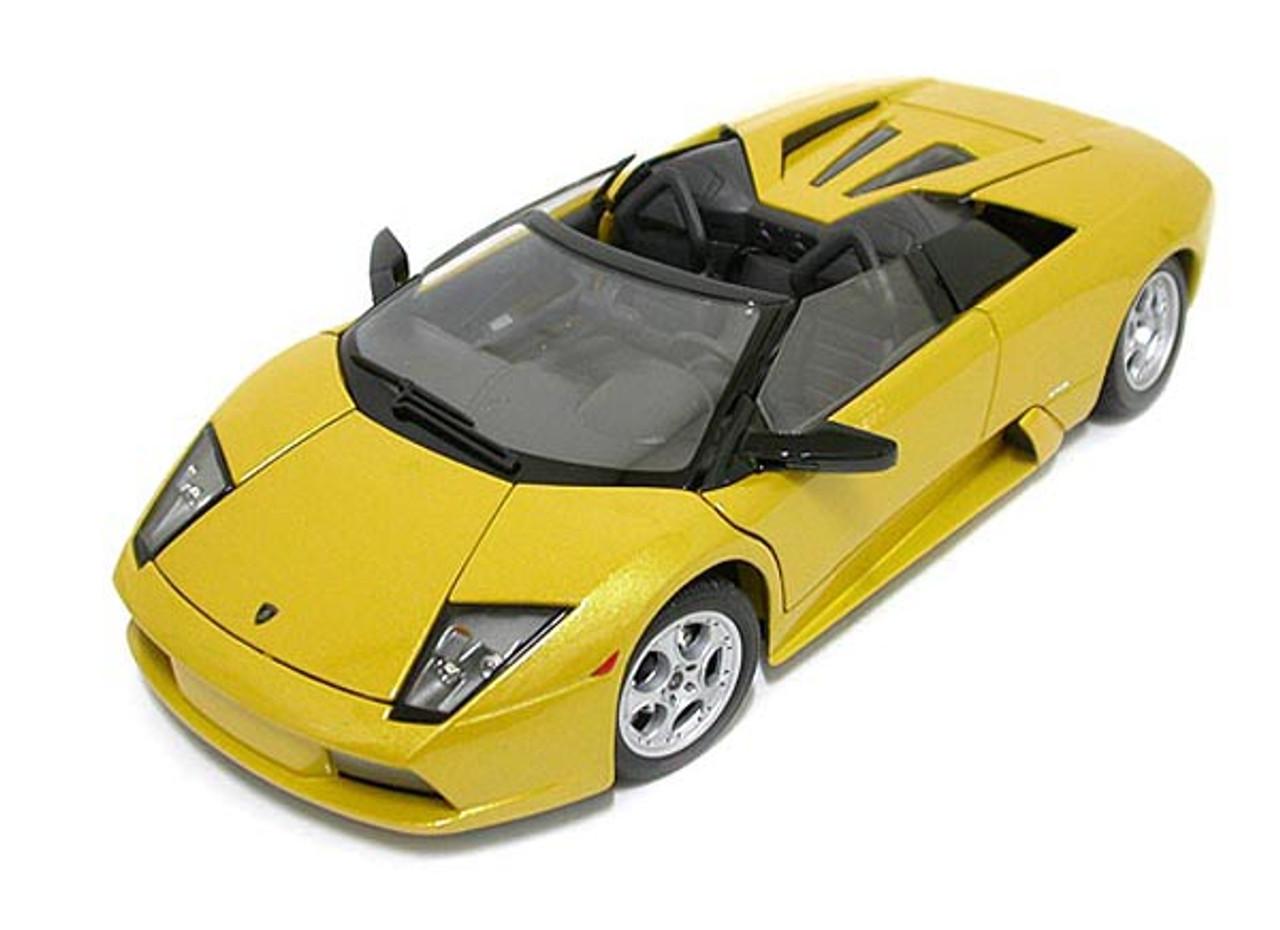 1 18 Maisto Lamborghini Murcielago Roadster Lp640 Yellow Diecast