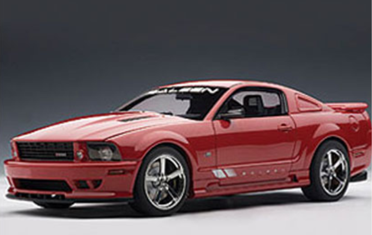 1 18 Autoart Saleen Mustang S281 Extreme Red Diecast Car Model 73059