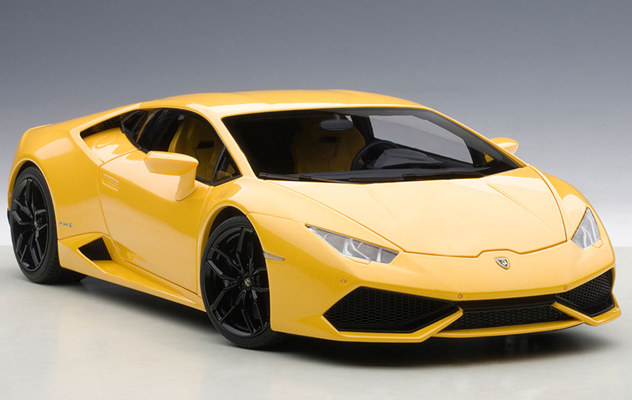 1 18 Autoart Lamborghini Huracan Lp610 4 Giallo Midas Pearl Effect