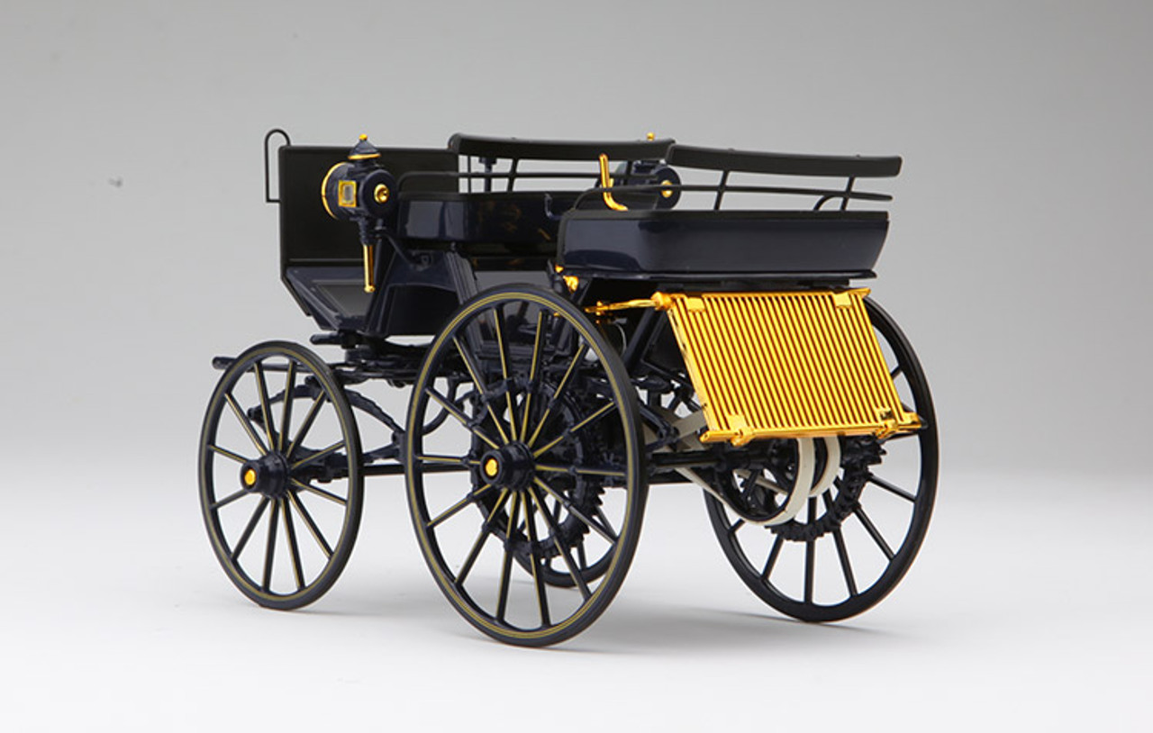 1//18 Norev Daimler Motorkutsche 1886 Dark Blue Livraison Domicile Février//Mars