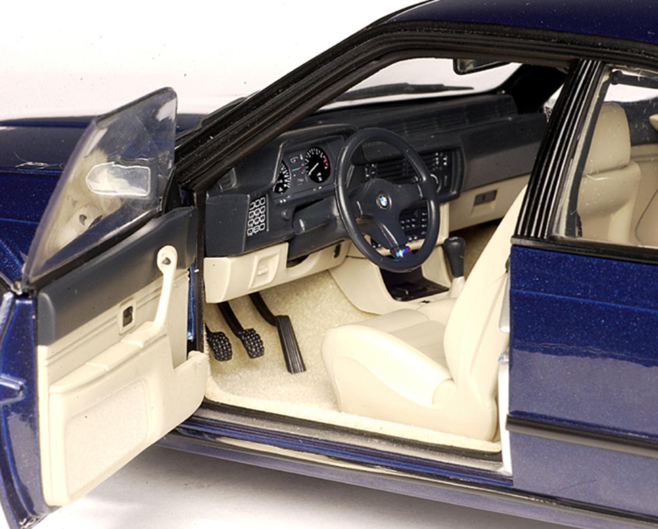 RARE 1/18 AUTOart BMW E24 M635Csi M635 Csi M6 (Royalblue Metallic) Diecast Car Model 70527