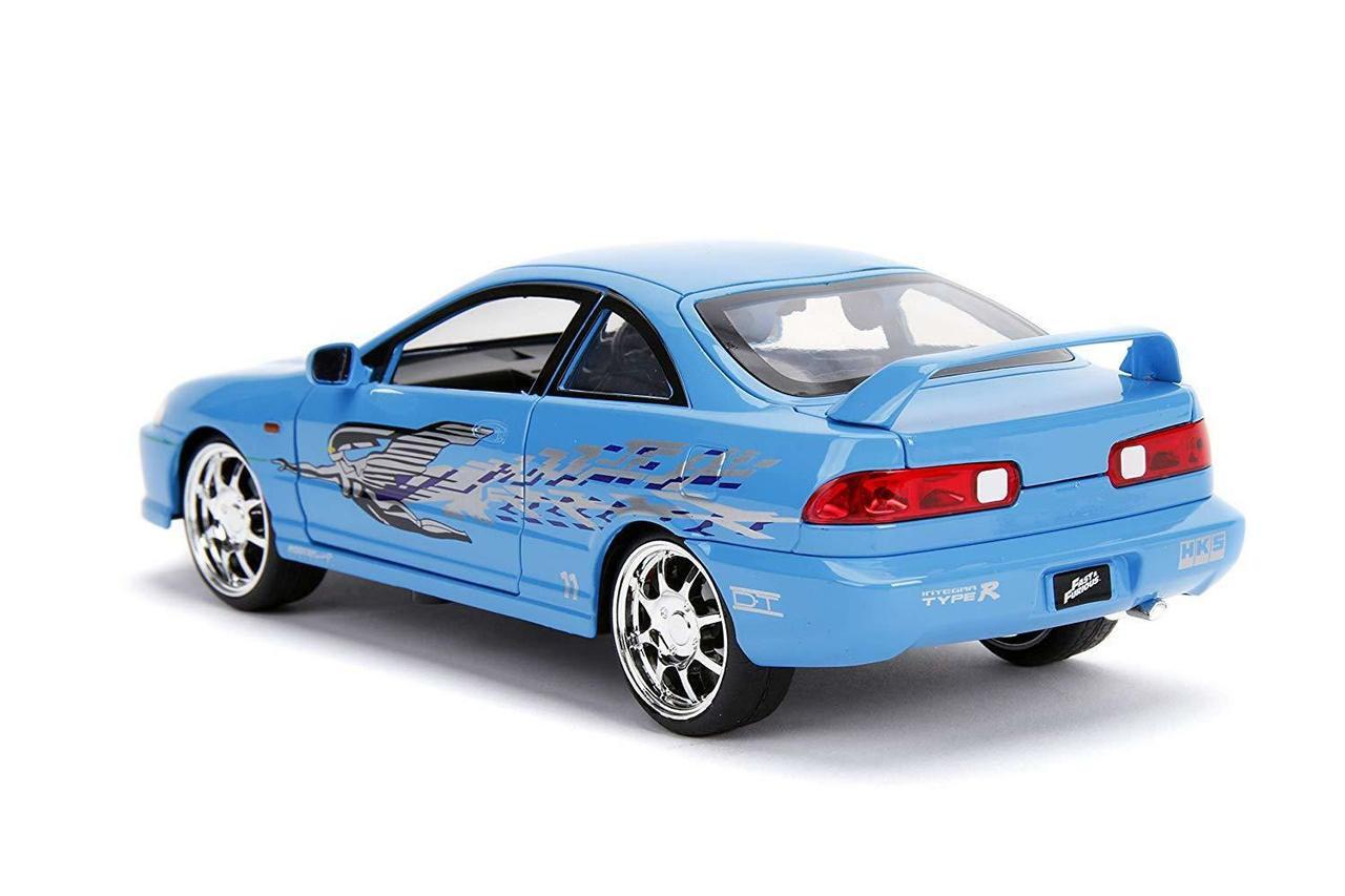 1 24 Jada Fast Furious Mia S Acura Integra Diecast Car Model Livecarmodel Com