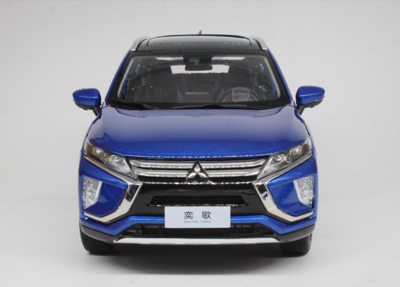 1/18 Dealer Edition Mitsubishi Eclipse Cross (Blue) Diecast Car Model