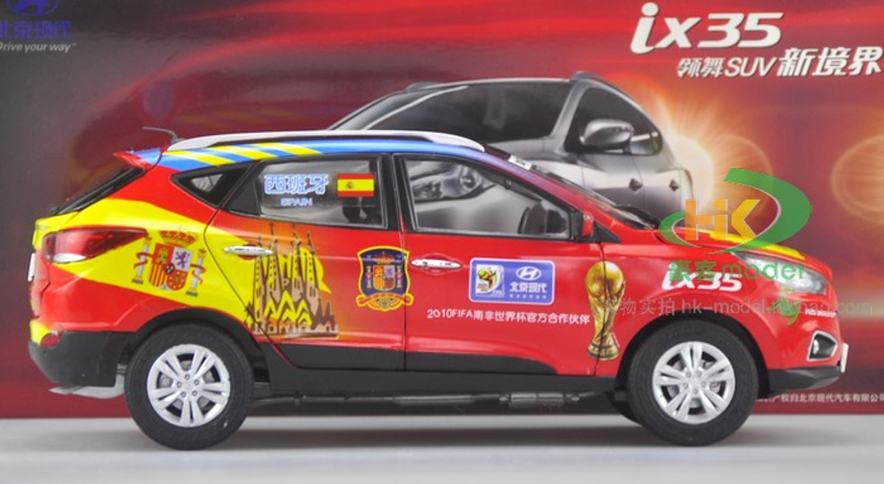 1/18 Hyundai Tucson/ix35 2010 Soccer World Cup Edition