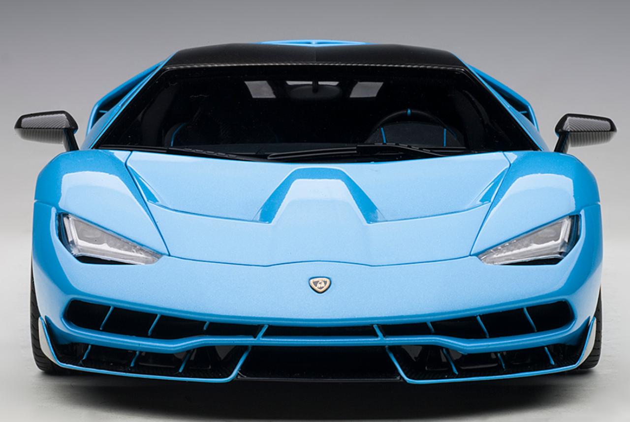 1 18 Autoart Lamborghini Centenario Blu Cepheus Pearl Blue Diecast