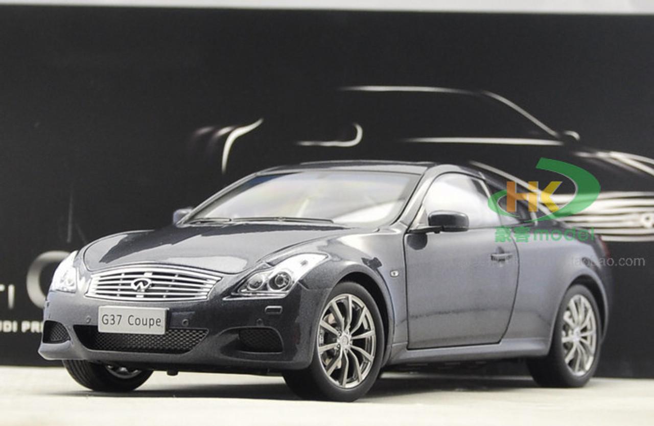 1 18 Dealer Edition Infiniti G37s Q60 Coupe Grey Diecast Car Model Livecarmodel Com