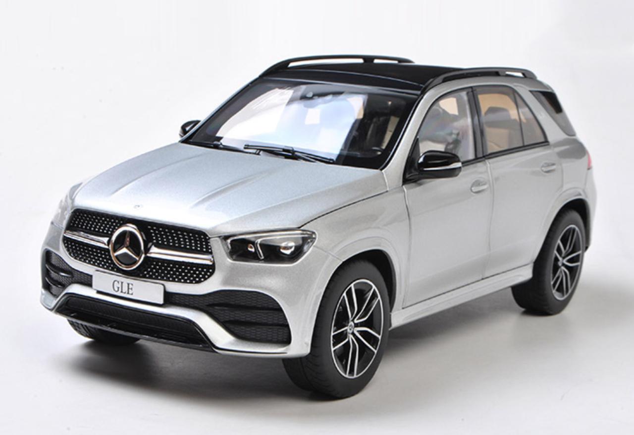 1/18 Dealer Edition 2020 Mercedes-Benz Mercedes MB GLE GLE350 GLE400 GLE450  GLE500 GLE580 (Silver) Diecast Car Model