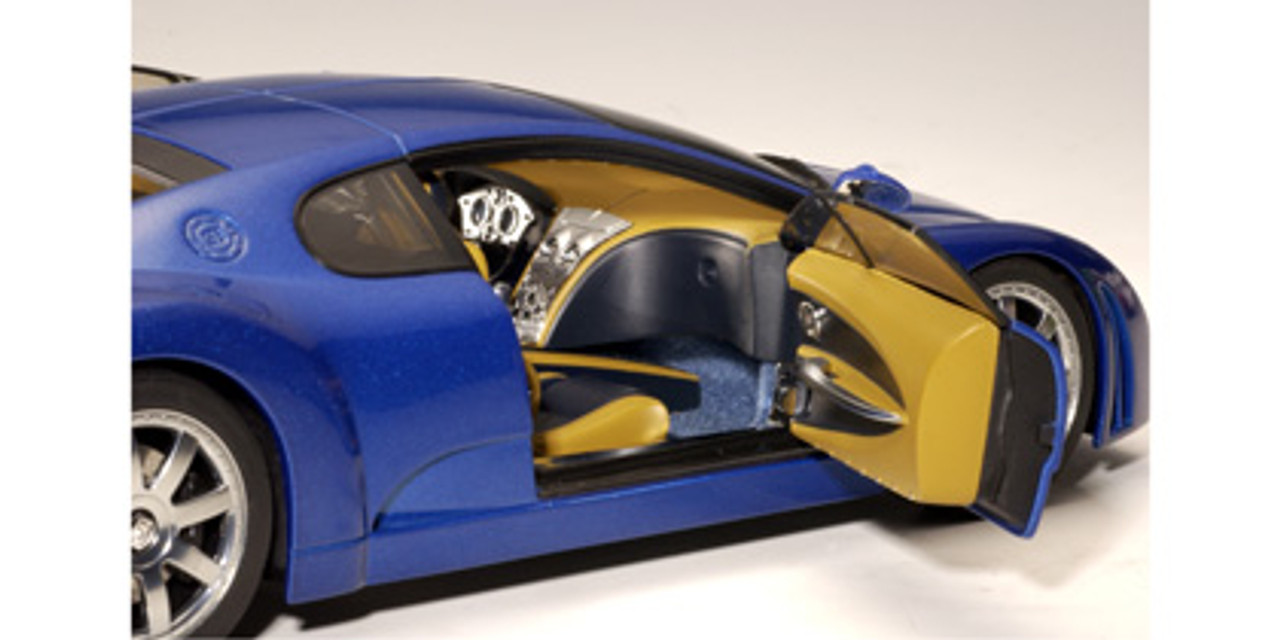 1/18 AUTOart Bugatti EB 18.3 Chiron (Blue) Diecast Car Model 70911