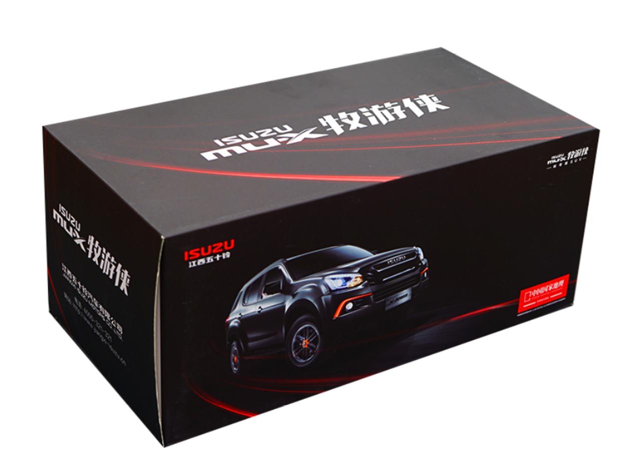 1/18 Dealer Edition Isuzu MU-X MUX (Grey) Diecast Car Model