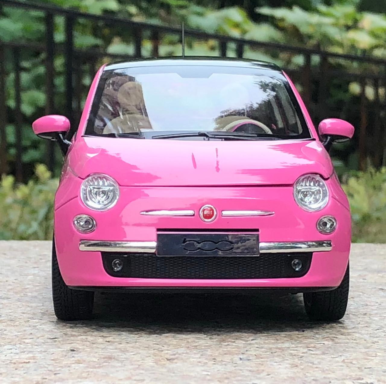 Fiat 500 1 2 Model From 2008 2015 Complete Alternator: 1/18 Norev Fiat 500 (Pink) Diecast Car Model