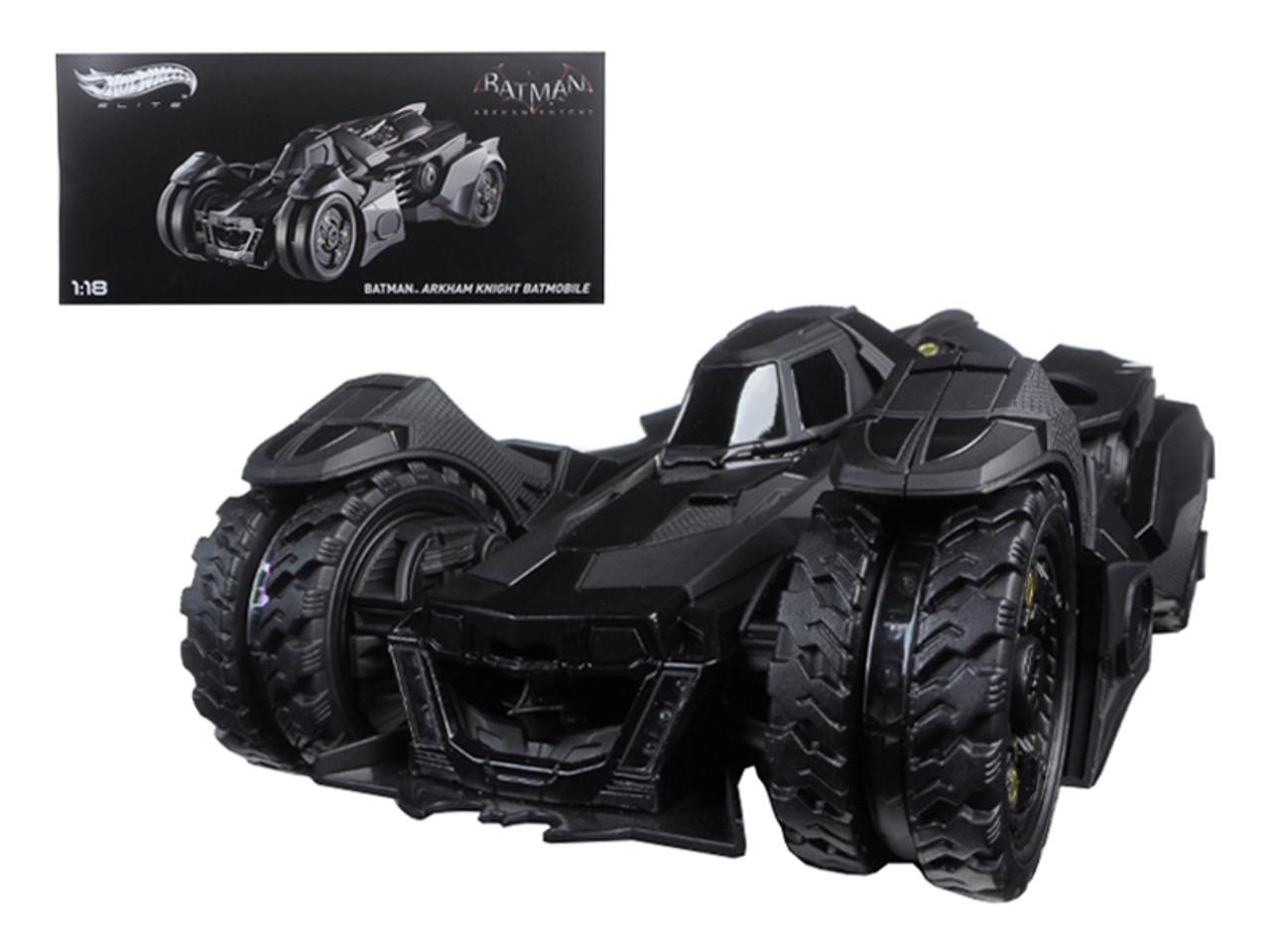1/18 Hot Wheels Hotwheels Elite Batman Arkham Knight Batmobile Elite Edition Diecast Car Model