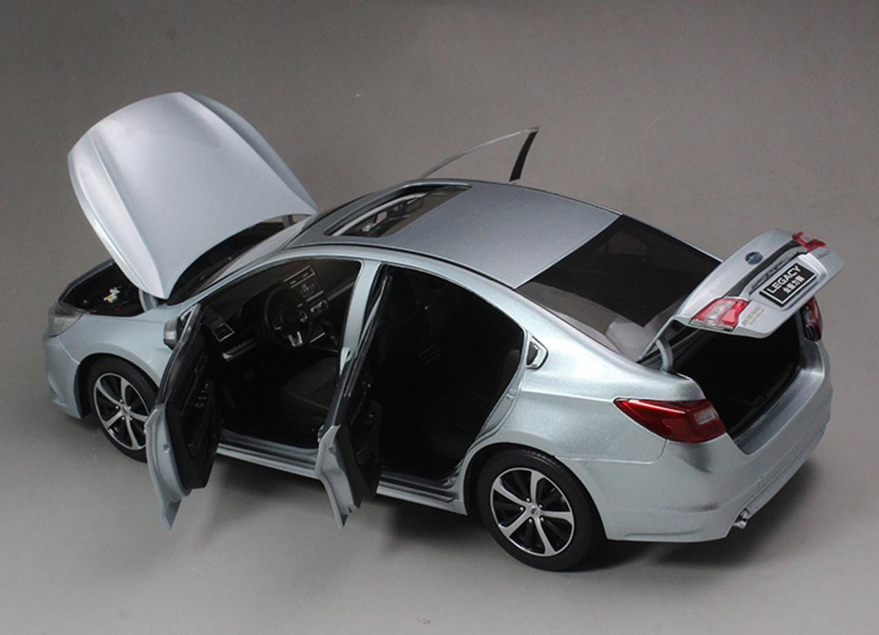 1/18 Dealer Edition All New Subaru Legacy (Silver Blue) Diecast Car Model