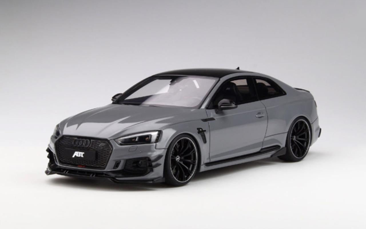 1 18 Gt Spirit Gtspirit Audi Rs5 Rs5 R Abt Grey Resin Car Model Limited 504 Livecarmodel Com