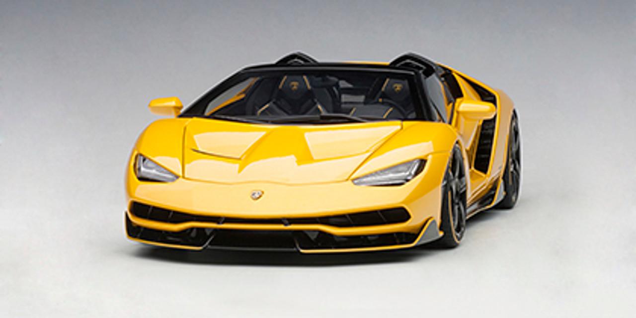 1 18 Autoart Lamborghini Centenario Roadster Giallo Inti Pearl