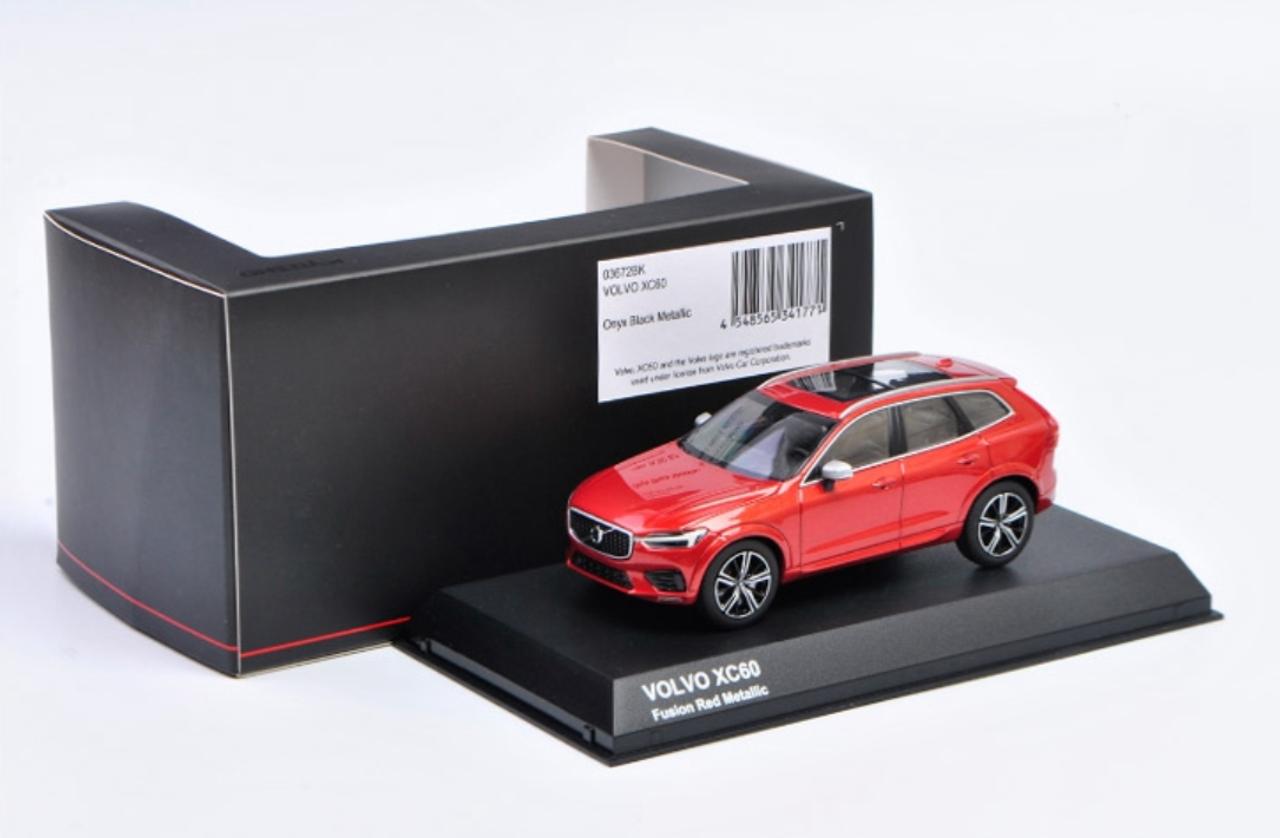 generación a partir de 2017 1//43 Kyosho Mode Volvo xc60 II spa SUV Fusion rojo metalizado 2