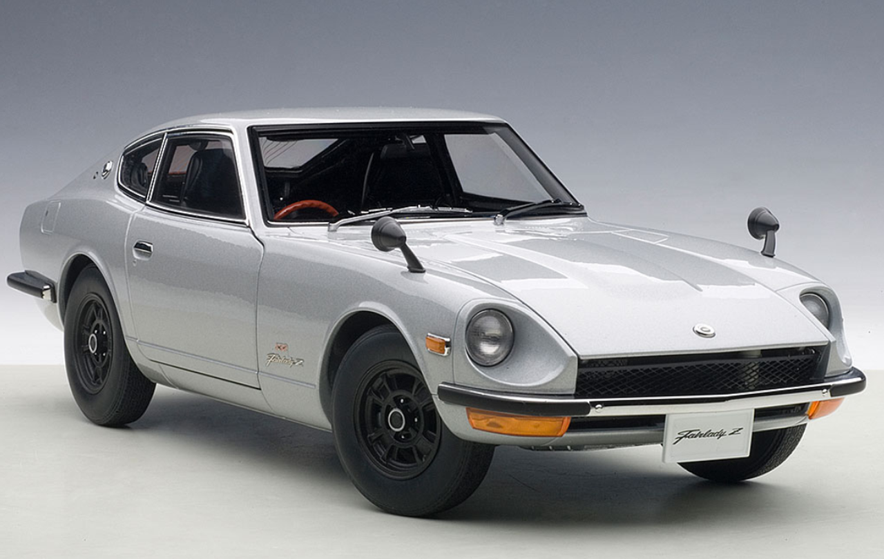 Nissan Fairlady Z >> 1 18 Autoart 1969 Nissan Fairlady Z Z432 Ps30 Silver Diecast Car Model 77437