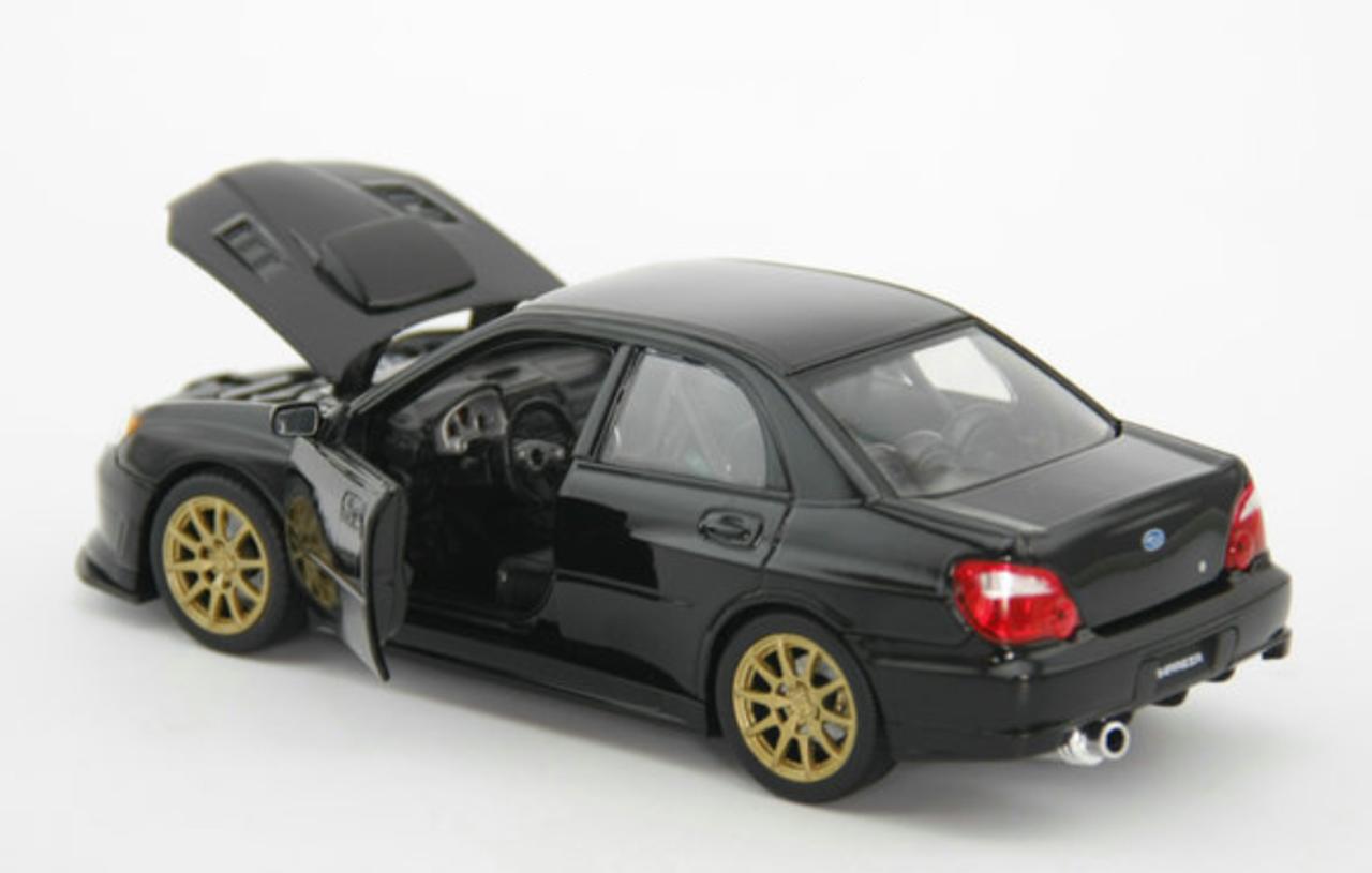 Model subaru impreza wrx sti 2001 1//43 Burago Collector Cars Stock