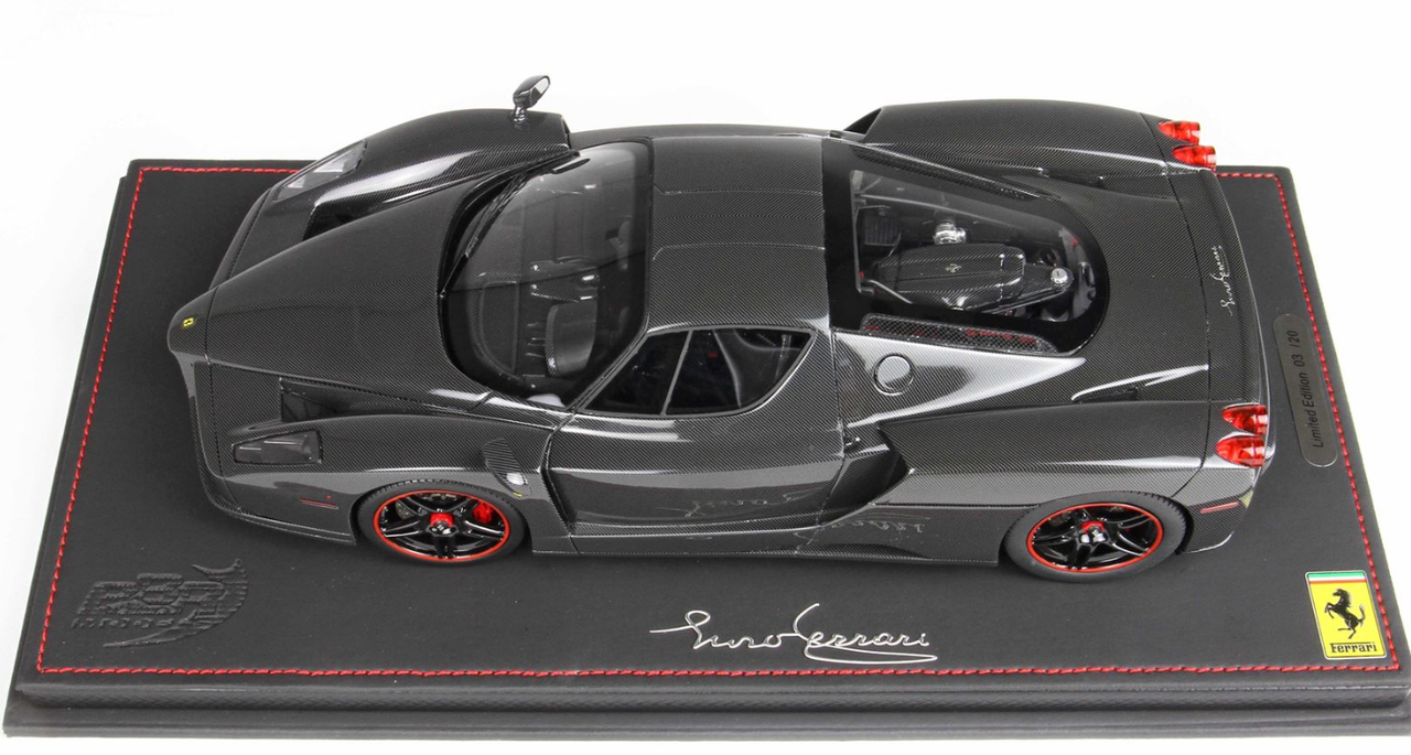 1/18 BBR 2004 Ferrari Enzo (Gloss Full Carbon Fiber) Resin Car Model Limited 20
