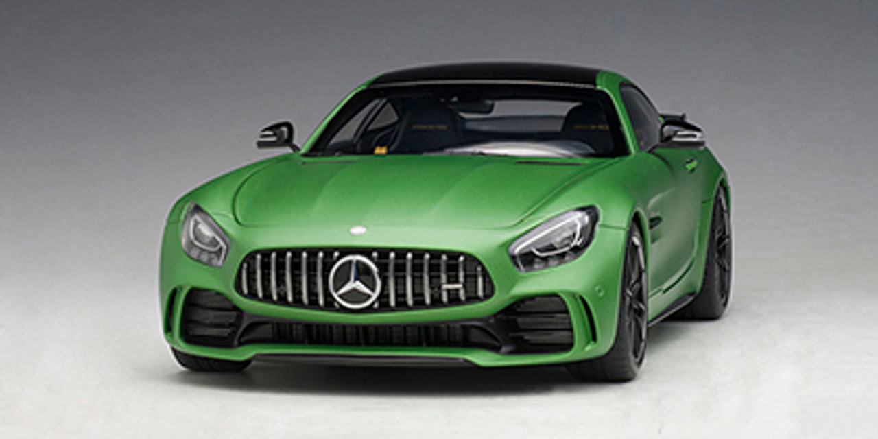 1 18 Autoart Mercedes Benz Mercedes Amg Gt R Gtr Amg Green Hell Magno Matt Metallic Green Diecast Car Model 76333