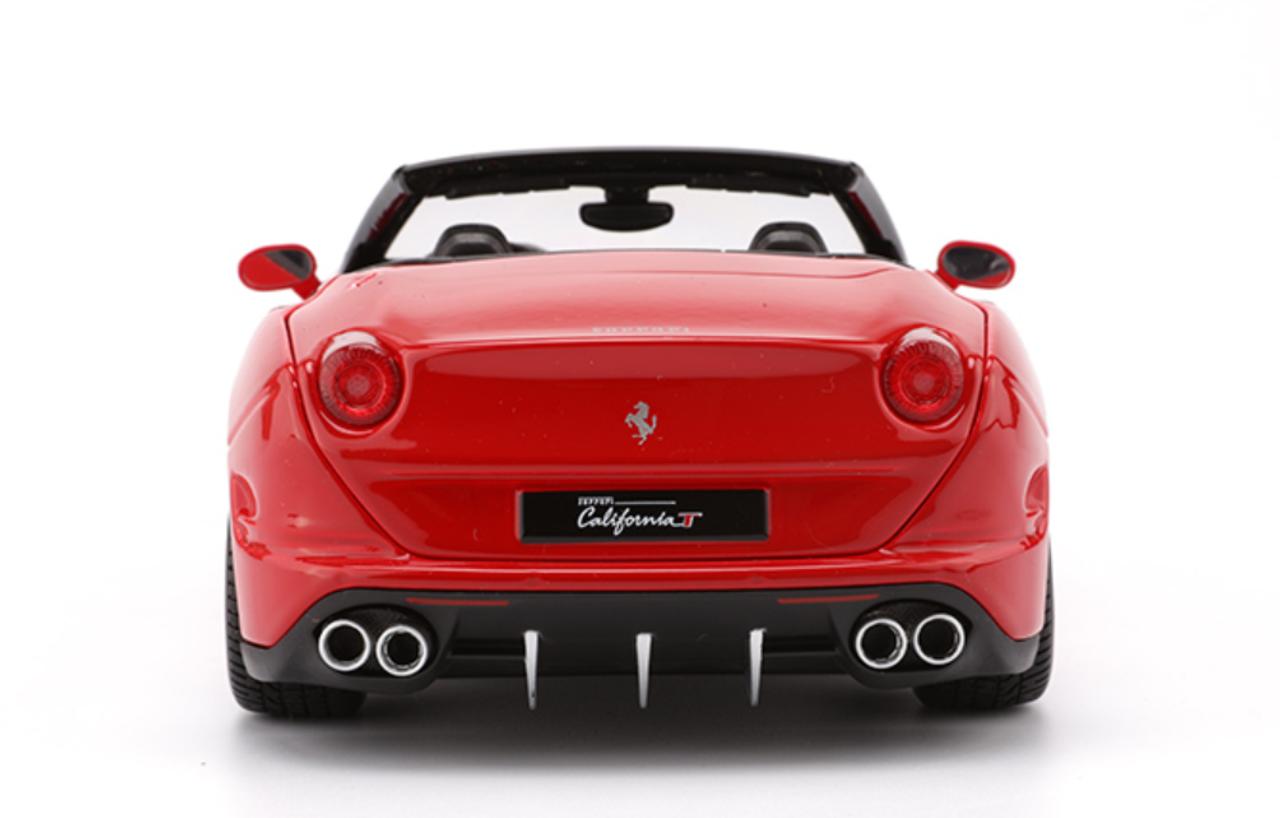 1/18 BBurago Ferrari California T Convertible (Red ...
