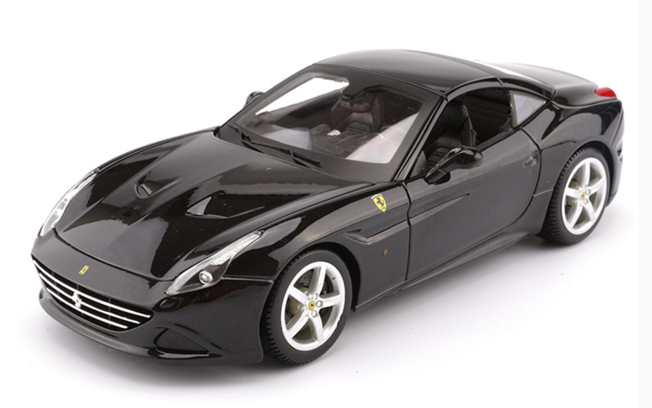 1/18 BBurago Ferrari California T Hardtop (Black) Diecast ...