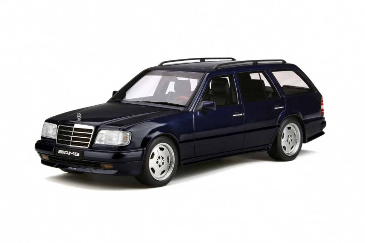 1/18 OTTO Mercedes-Benz Mercedes S124 E36 AMG Wagon (Blue) Resin Car Model