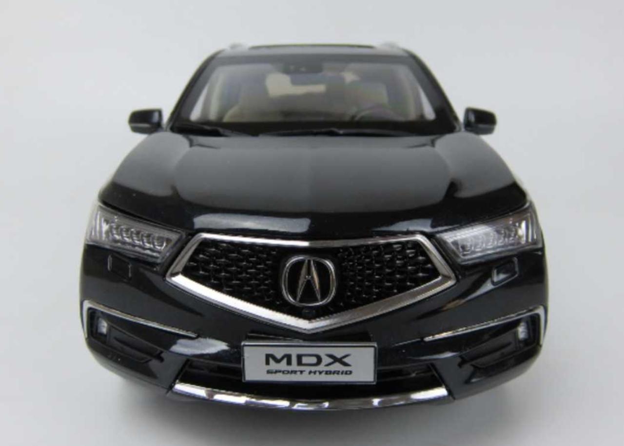 1 18 Dealer Edition 2018 Acura Mdx Black Diecast Car Model Livecarmodel Com
