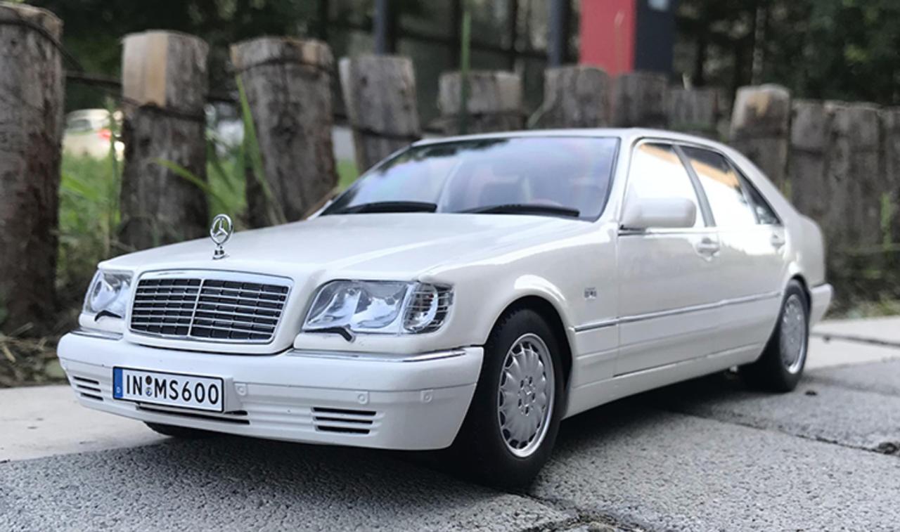 1/18 Dealer Edition 1990 Mercedes-Benz S600 V12 W140 ...