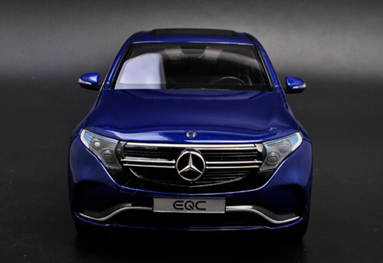 1/18 Dealer Edition Mercedes-Benz Mercedes MB EQC (Blue ...
