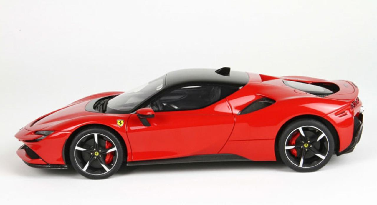 1 18 Bbr Ferrari Sf90 Stradale Red Resin Car Model Livecarmodel Com