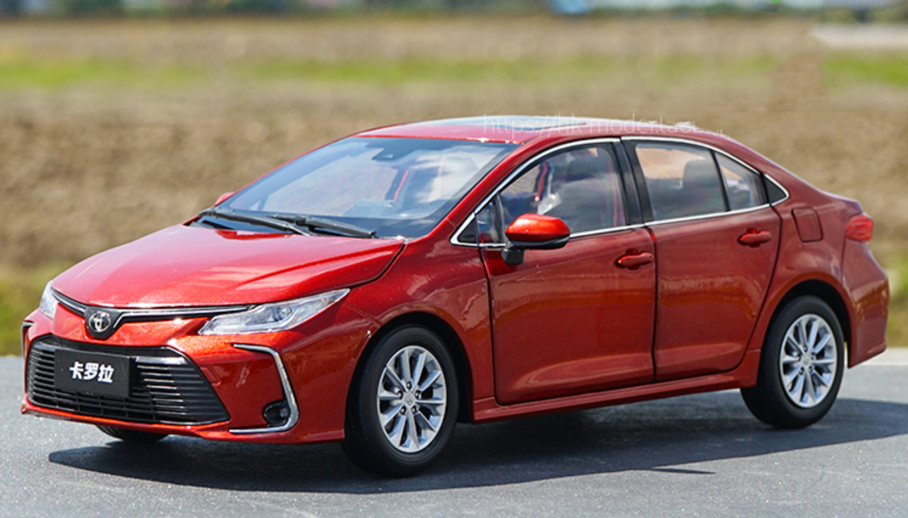 Toyota Corolla 2019 Red
