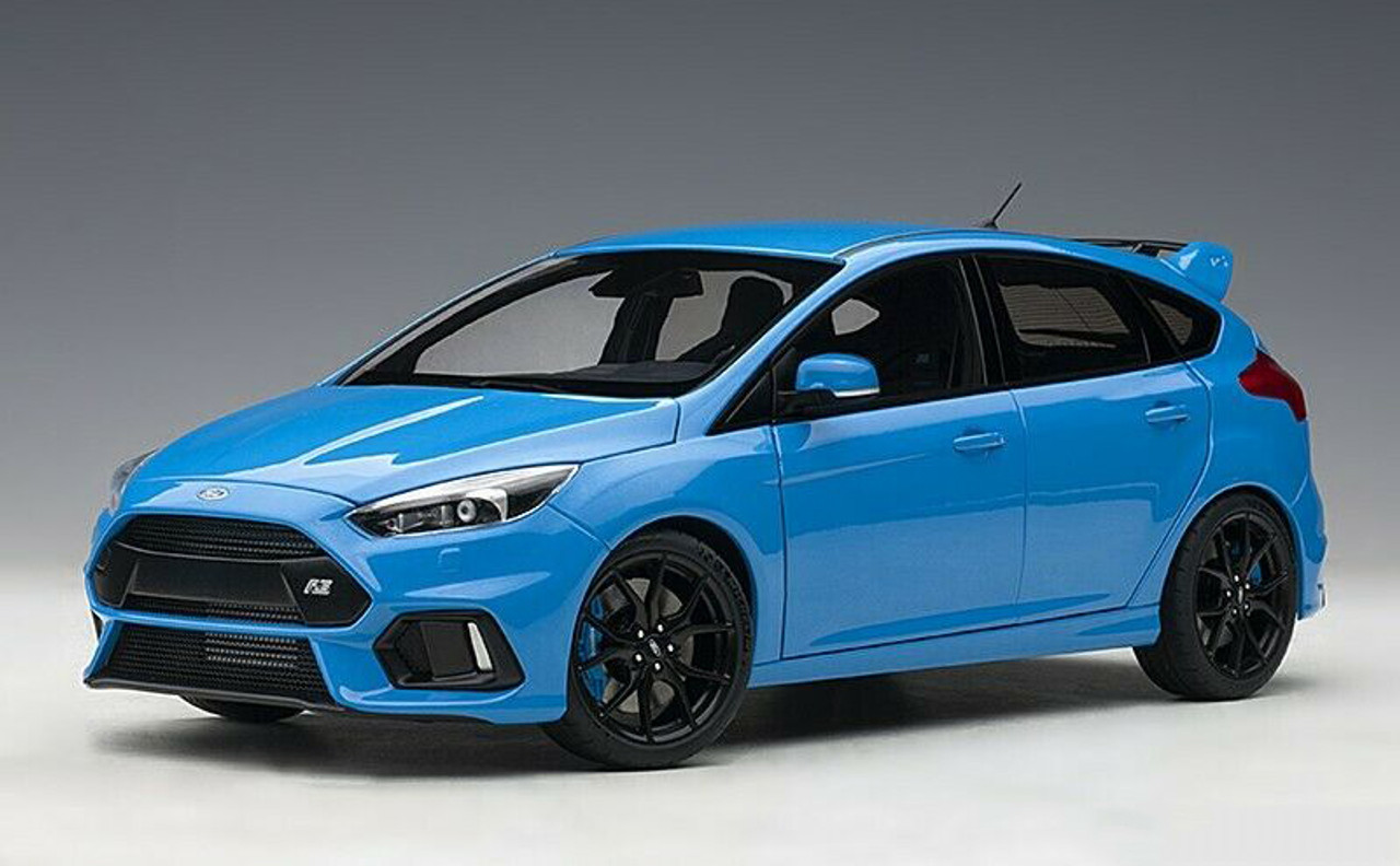 1 18 Autoart Ford Focus Rs Blue Diecast Car Model 72953 Livecarmodel Com