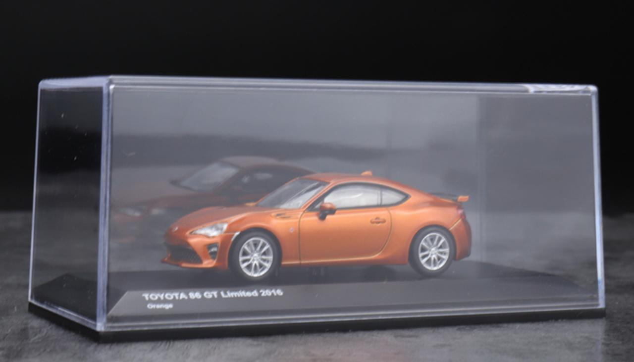 1//18 Toyota 86 GT GT86 Racing Car Diecast Model Car Toys Gifts Orange