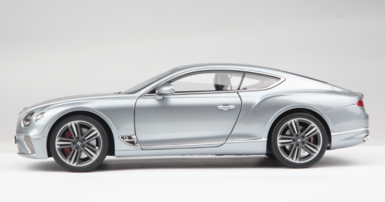 1/18 Norev 2019 Bentley Continental GT Coupe (Silver) Diecast Car Model