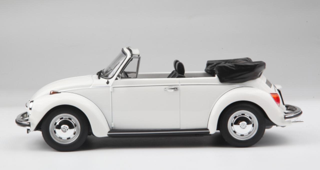 1 18 Norev Volkswagen Vw 1972 1973 Beetle 1303 Cabriolet White Diecast Car Model Livecarmodel Com