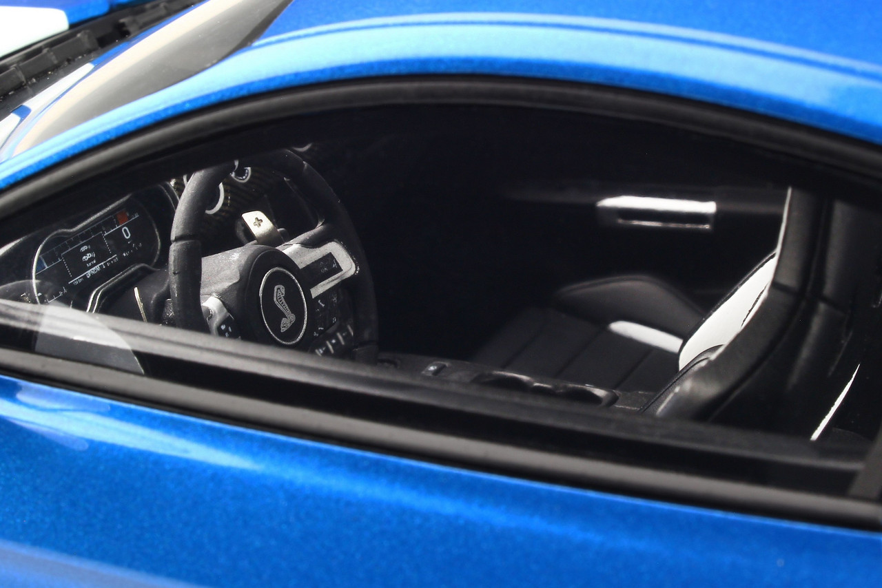 Ford Shelby GT500 2020 candy apple grün Modellauto 1:18 GT Spirit