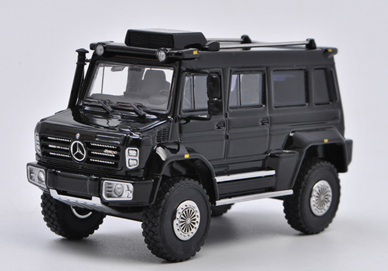 1/64 GLM Mercedes-Benz Mercedes Unimog U5000 U 5000 Truck Diecast Model Limited