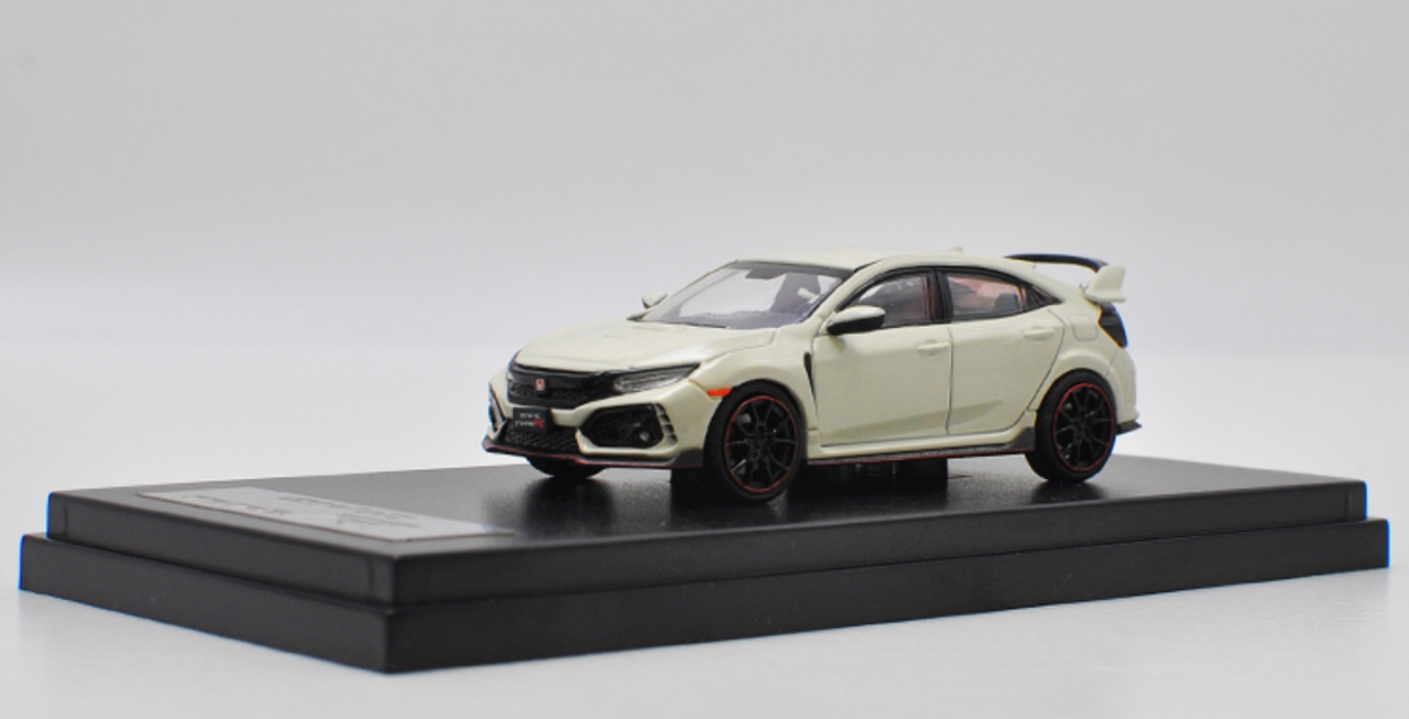 1/64 LCD Honda Civic Type-R Type R TypeR FK8 (White) Car Model