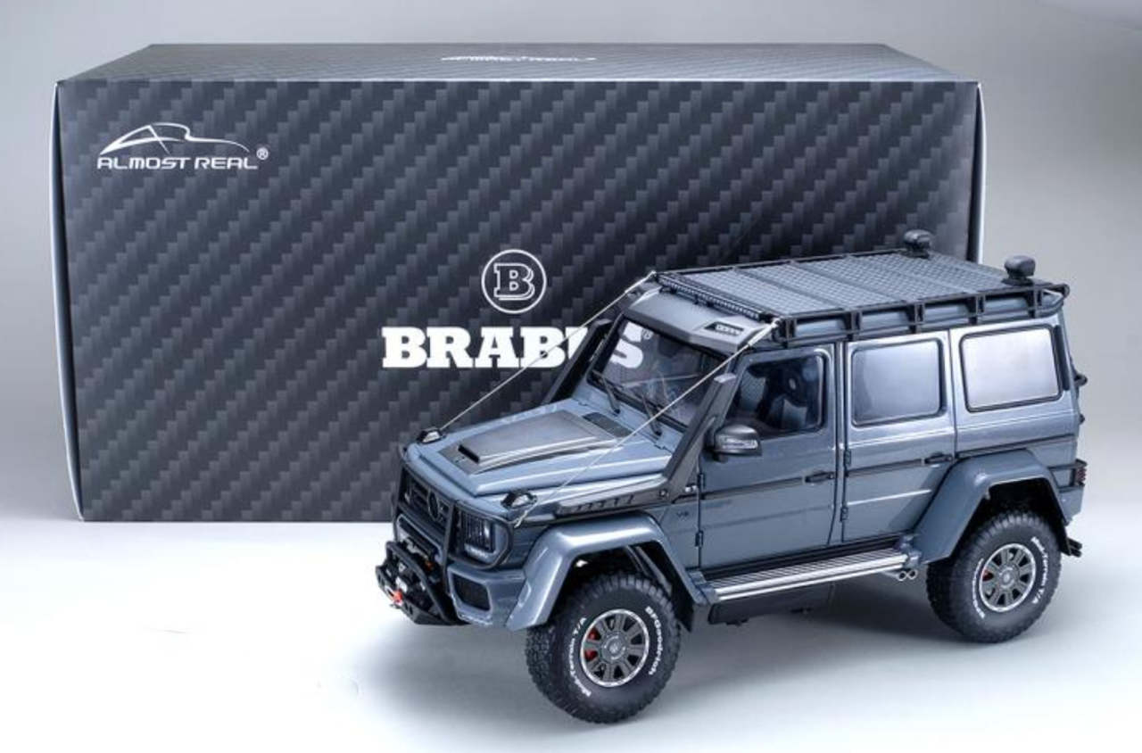 Almost Real AR 1//18 BARBUS 550 Adventure 4x4 Diecast Model Car Collection Gray