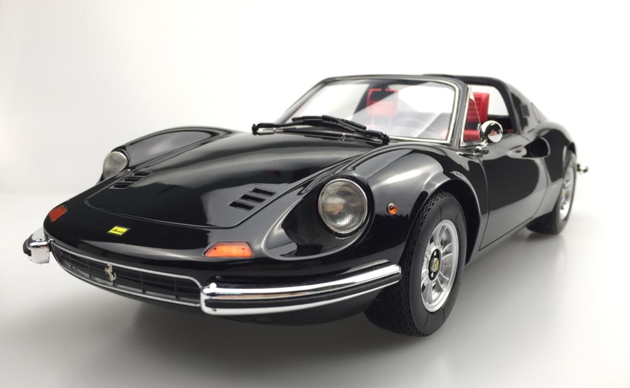1 12 Top Marques Ferrari Dino 246 Gts Black Resin Car Model Livecarmodel Com