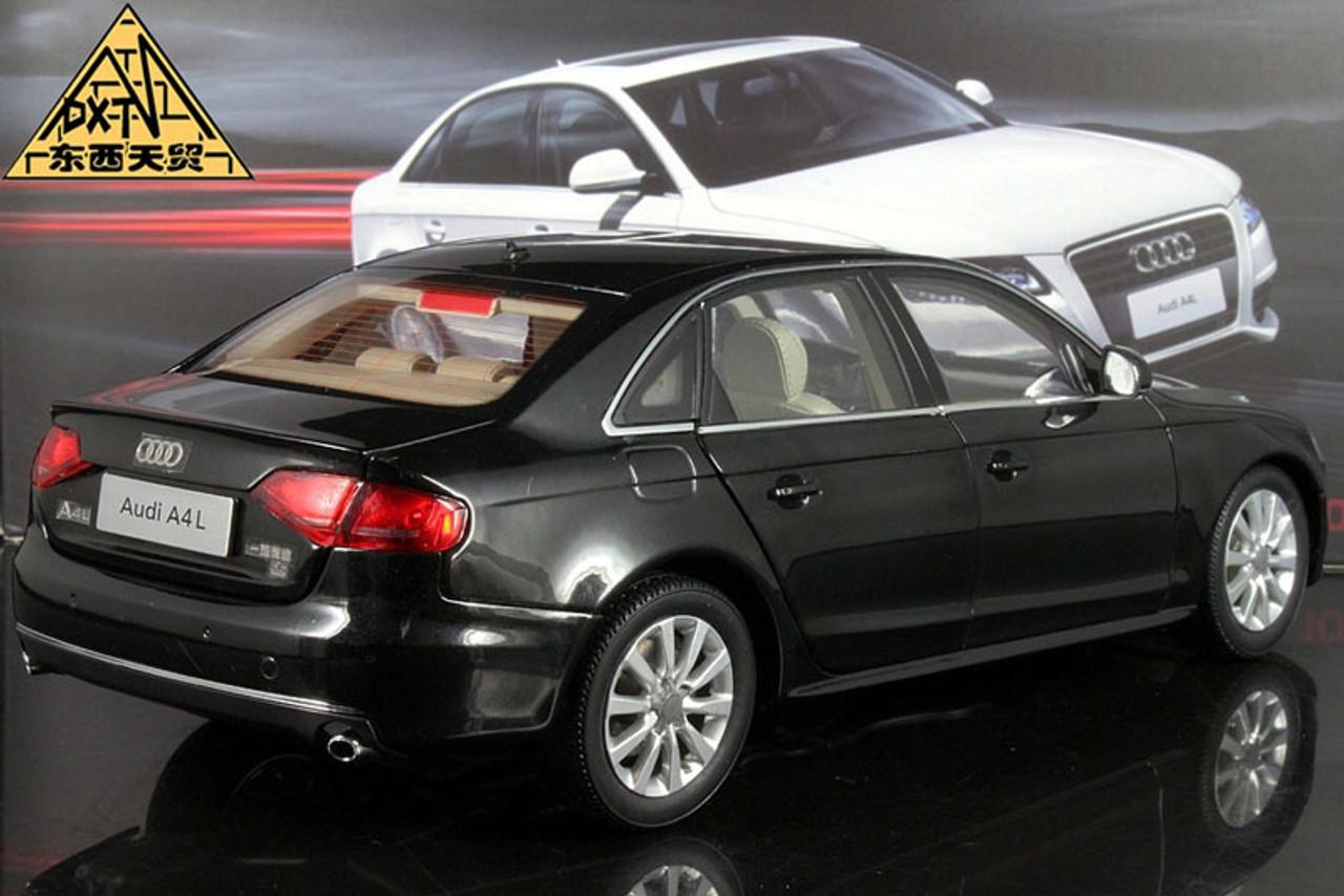 1/18 Dealer Edition 2010 Audi A4 A4L (Black) Diecast Car Model