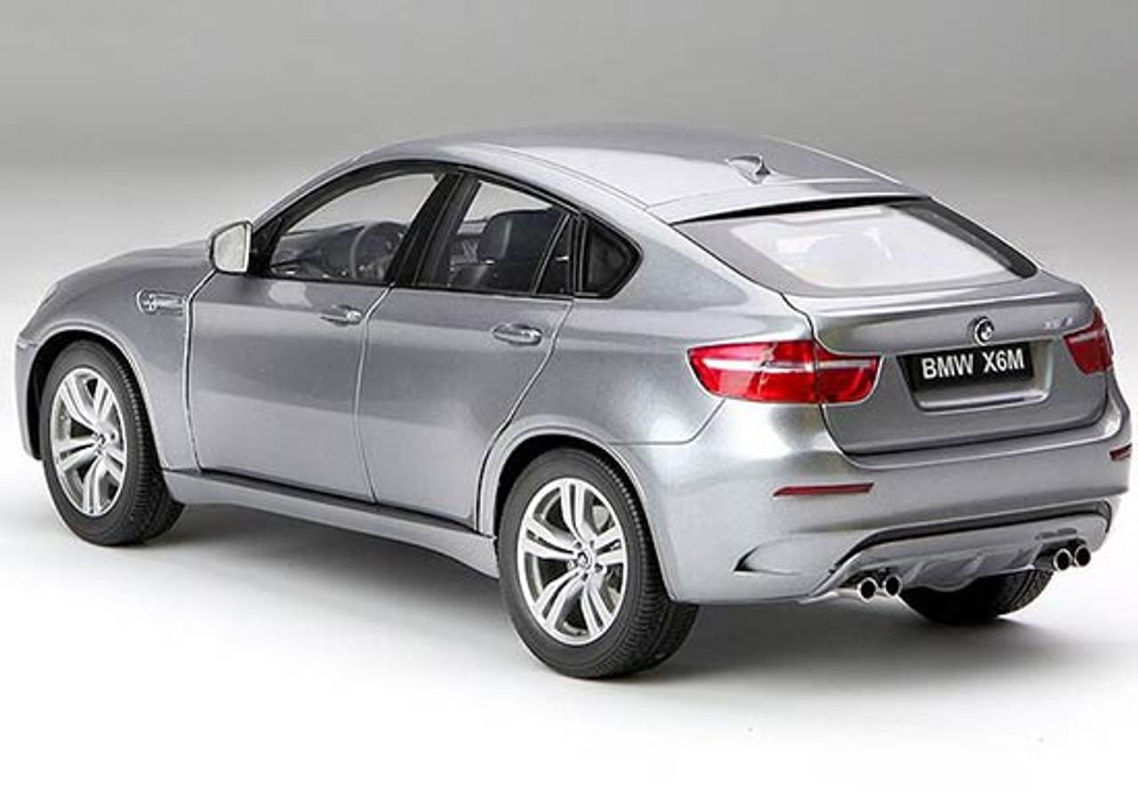 1 18 Kyosho Bmw X6m X6 M Space Grey Diecast Car Model