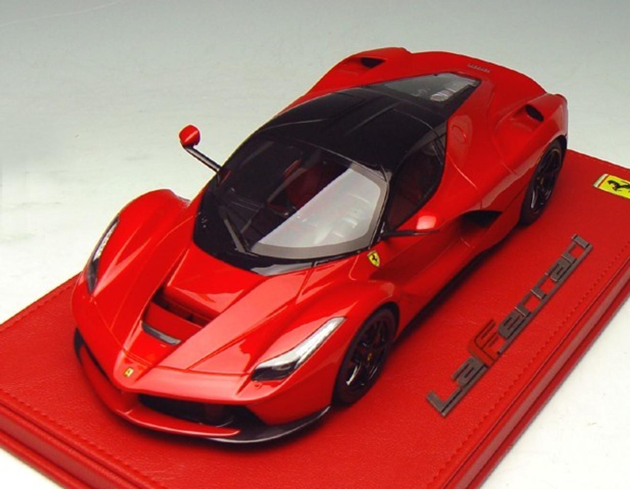 1/18 BBR Ferrari LaFerrari (Red w/ Black Roof) Limited 50 ...